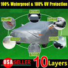 Multi Size10 Layers Soft Universal Car Cover Uv Waterproof Resist Protection
