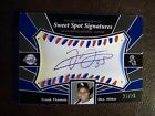 2004 Frank Thomas Upper Deck Sweet Spot Signatures 23 25 Red and Blue Stich Auto
