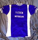 Vintage Y Etien Motobecane VCCA Wool Jersey Bicycle Cycling