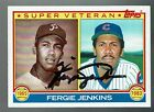 Chicago Cubs 1983 Topps #231 Fergie Jenkins Auto EXNM