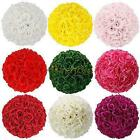 10PCS Hot Silk Rose Pomander Flower Kissing Ball Wedding Party Home Decoration