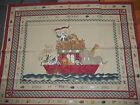 COUNTRY NOAH QUILT ark animals Daisy Kingdom cotton quilt FABRIC PANEL