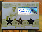 David Wright Auto Dual Relic on Printing Plate #1 1 - 2006 Topps Triple Thread