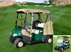 3 Sided Drivable Golf Cart 2 Seater Enclosure Fit E Z GO Club Car Yamaha G mode