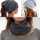 Fancy 3 Way To Wear Cotton Women Beanies Caps Winter Spring Hat Fashion Style