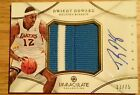 Dwight howard rockets lakers 2012 13 immaculate jumbo patch auto sp 33 75