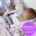 Reborn Vinyl doll kit to make your own baby doll Baby Gemma unpainted kit