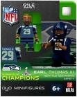 Earl Thomas (Seattle Seahawks) Super Bowl Champs NFL OYO Sportstoys Minifigures