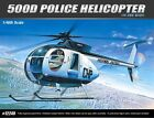 Academy Plastic Model Kits 1/48 Scale 500D Police Helicopter 12249 NIB
