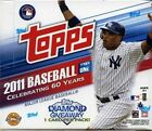 2011 Topps Series 1 Baseball Jumbo Hobby 3 Box Lot