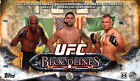2014 Topps UFC Bloodlines Hobby 3 Box Lot