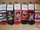 Ladies Girls Disney Minnie Mouse socks size 4 8 6 different designs