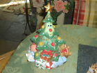 FITZ & FLOYD WEE CHRISTMAS TREE COOKIE JAR NEW IN BOX  VINTAGE