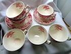 Johnson Brothers Strawberry Fair Cup & Saucer sets
