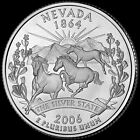 2006 P Nevada State Quarter New US Mint Brilliant Uncirculated Coin