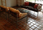 Custom Mid Century Modern sofa, reading chairs, and end tables