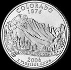 2006 P Colorado State Quarter New US Mint Brilliant Uncirculated