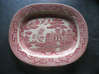 VTG Early W.R. MIDWINTER RED WILLOW transferware 11