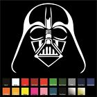 Darth Vader Sticker Decal Choose Color  Size Star Wars Sith Lord Force