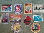 10 Vintage and Antique Hotel Luggage travel stickers