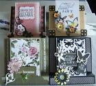 Bulk DIY Kit Treasured Moments 3 Card Making 4 Cards + Lots Embellishments