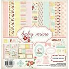 New  Carta Bella Paper Company Baby Mine Girl Collection Scrapbooking Kit