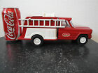 Tonka Fire Fighter Truck No.72 Red Jeep Fire Truck Good Condition- Missing Parts