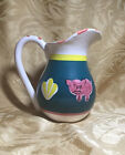 CERAMICA ARTE BELLO Pitcher - Pig Motif - Identical to Pottery Barn - Mexico