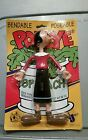 1993 OLIVE OYL oil Popeye Bendable Posable 7 action figure BENDY Mint NEW