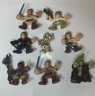 2004 STAR WARS GALACTIC HEROES LOT OF 8 FIGURES HASBRO LFL