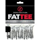 NEW Zero Friction FATTEE Golf Tees 3 Wood Bamboo 50 pack 325 Choose Quantity