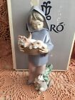 LLADRO 6102 Mother's Little Helper Retired! Mint! Original Grey Box! Rare! L@@K!