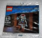 NIP Lego Disney Jack Sparrow Pirates of the Caribbean Set 30132 Polybag NEW