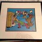 Hanna Barbera Scooby Doo Cel Sericel SCOOBY'S HERO limited edition animation