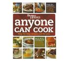 1st Ed.Better Homes and Gardens Anyone Can Cook  Book With Step-By-Step Recipes