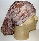 Digital Desert Camo chemo therapy hair loss head wrap cover turban scarf wig