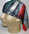Rasta Stripe Rustic Stripe chemo therapy hair loss head wrap turban scarf wig
