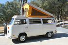 Volkswagen Bus Vanagon Westfalia Camper 1975 volkswagen westfalia pop up camper excellent cond runs great