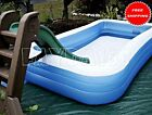 Large Family Inflatable Swimming Pool Center Water Giant Indoor Outdoor Kid Play
