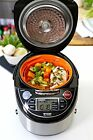 Tiger JAX-T18U-K 10-Cup (Uncooked) Micom Rice Cooker with Food Steamer