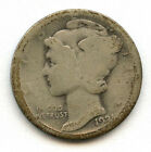 1921-D 10c Mercury Dime AG Nice Original Wonderful For The Grade