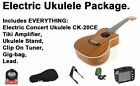 NEW Electric Ukulele  Amplifier Package + Concert Ohana Ukulele + Lesson Tuner
