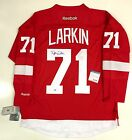 DYLAN LARKIN SIGNED DETROIT RED WINGS HOME JERSEY PSA DNA ROOKIE GRAPH COA
