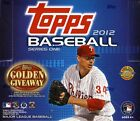2012 Topps Series 1 Baseball Jumbo HTA Hobby 2 Box Lot