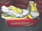 NEW WOMENS SAUCONY PROGRID GUIDE 5 SIL GRY YEL RUNNING SHOES SIZE 5
