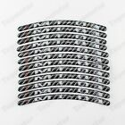 For Yamaha MT-03 MT03 Custom Carbon RIM Stripe Wheel Epoxy Decal Tape Sticker