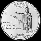 2008 P Hawaii State Quarter New U.S. Mint