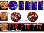 FREDDY NIGHTMARE ON ELM STREET Pinball Target Cushioned Decals