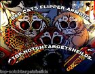 BAD CATS Pinball Flipper Armour Mod 2 piece set