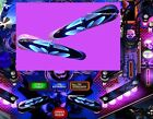BATMAN BLACK KNIGHT Pinball Flipper Armour Mod-2 piece set*CHOOSE PIC 1 OR 2*